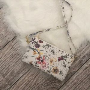 Handbags - Floral crossbody purse